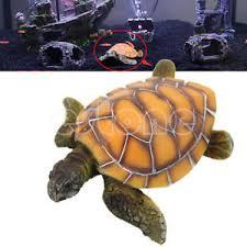 turtle ornament stylish aquarium polyresin tortoise fish tank