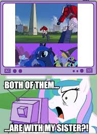Princess Celestia Meme - image umad png my little pony fan labor wiki fandom powered by