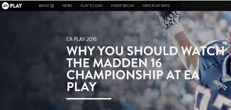 Madden Home Design The Nashville The 5 Problems With Trying To Make Fifa And Madden Esports