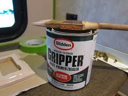 what type of paint to use on rv cabinets how to paint the vinyl walls in your rv trek with us