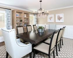 Upholstered Dining Room Chairs With Arms Dining Room Wing Chairs Pic Photo Photos Of Modern Wingback Dining