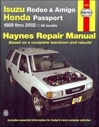 factory isuzu repair manuals