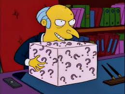Whats In The Box Meme - what s in the box the simpsons know your meme