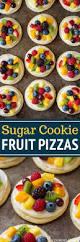 Pillsbury Sugar Cookies Halloween by Sugar Cookie Fruit Pizzas Chewy Version Recipe Mini Fruit