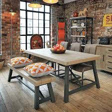 reclaimed wood extending dining table reclaimed wood furniture industrial dining table modish living