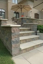 Unilock Michigan Unilock Estate Wall Steps And Pillar Photos