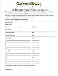 home design questionnaire fine architecture design questionnaire important to understand