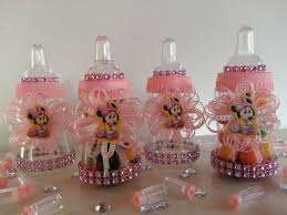 012 minnie mouse fillable bottles favors prizes games baby shower
