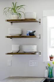 kitchen rack designs diy open shelving for our kitchen lemon thistle