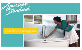 American Standard Acrylic Bathtubs Cadet Freestanding Soaker Tub From American Standard Youtube