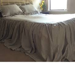 Queen Shabby Chic Bedding by Bedspread With Gathered Ruffle Fall Ruffle Bedding Linen Bedding