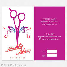 Business Cards Hair Stylist 40 Best Hairstylist Referral Cards Images On Pinterest Hair