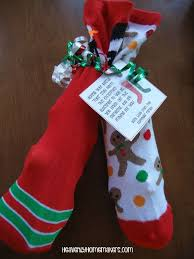 fun christmas socks gift idea keeping the mistle