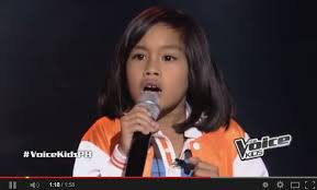 The Voice Kids Blind Auditions 2014 Echo Claridad The Voice Kids