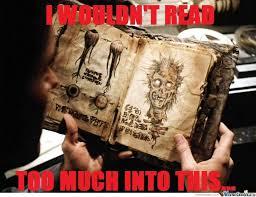 Evil Dead Meme - the book of the evil dead by braynded12 meme center
