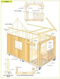 free wood cabin plans step by shed idolza