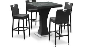 table de cuisine haute avec tabouret chambre enfant table haute avec tabouret table haute hanley avec