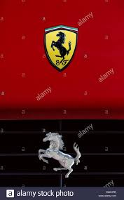 ferrari horse logo ferrari u0027prancing horse u0027 symbol on the front of a ferrari sports