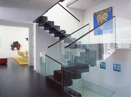 Glass Staircase Design 22 Sleek Glass Railings For The Stairs Home Design Lover