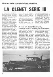 normes si es auto clenet magazine coverage from the past