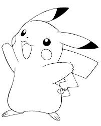 printable pokemon coloring pages pikachu 3297 electric pokemon