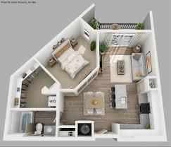 apartement stunning 3d apartment floor plans studio plan