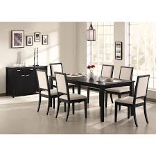 coaster furniture 101562 lexton dining side chair in black set