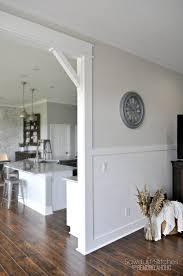 How To Install Interior Door Casing Remodelaholic How To Diy Craftsman Door Casing And Easy Corbels