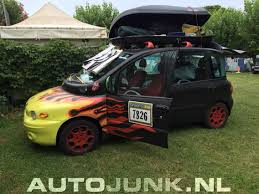 fiat multipla tuning fiat multipla roadtrip foto u0027s autojunk nl 174489