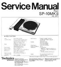 technics sl eh60 service manual download schematics eeprom
