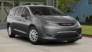 2018 chrysler pacifica van grey silver body color paint the news