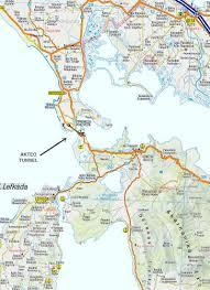 Thessaloniki Greece Map by Undersea