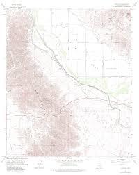 Dma Map Topographic Maps Of Yuma Arizona Area