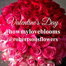 Win With Flower by Valentine U0027s Day 2016 Archives Robertson U0027s Flowers