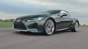 lexus lc500 reveal 2018 lexus lc 500 is a looker and legit performer