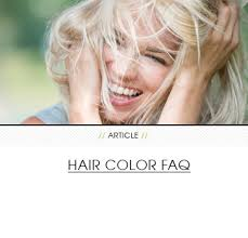 Do U Wash Hair Before Coloring - common hair color questions answered clairol
