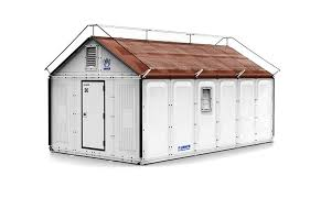 ikea flat pack house ikea unveils solar powered flat pack shelters for easily deployable