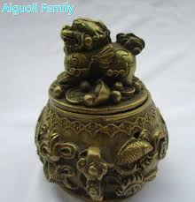chinese decorations for home art collection chinese brass carved cornucopia lion pot metal pot