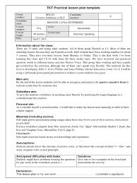 Participle Worksheet Lesson Plan Tkt Passive Causative Verb Lesson Plan