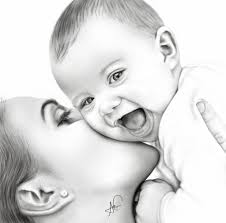 beautiful pencil drawings of babies great drawing