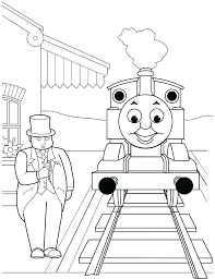 coloring pages thomas train printable coloring pages thomas
