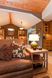 paint color ideas for basement family room traditional with