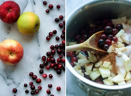 spiced apple cranberry sauce kitchen treaty