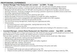 Restaurant Management Resume Samples by Resume Of Restaurant Manager Click Here To Download This