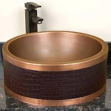 copper vessel sinks ebay copper vessel sinks copper vessel bathroom sink copper vessel sink