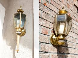 Spray Painting Brass Light Fixtures Update Your Home With Spray Paint Brownie Bites