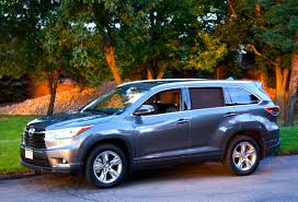 toyota sport utility vehicles 2014 toyota highlander hybrid awd suv review by stu wright
