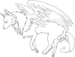 Anime Wolf Coloring Pages Funycoloring Wolf Pack Coloring Pages