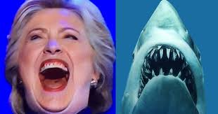 Jaws Meme - hillary devours constitution bill of rights infowars flash