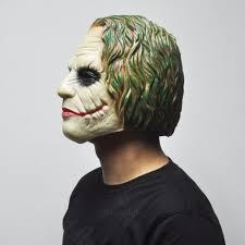 aliexpress com buy joker mask batman clown costume cosplay movie